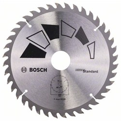 Пильный диск Bosch STANDARD 180 x 30 x 2,2 mm, 40 [2609256815]