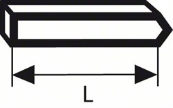 Bosch Штифт, тип 40 19,0 mm [2609255805]