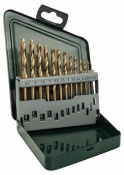 Набор из 13 сверл по металлу Bosch HSS-TiN [2607019436]