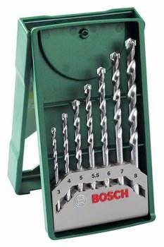 Мини-набор сверл по камню Bosch X-Line из 7 шт. [2607019581]