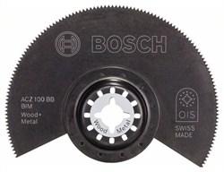 Сегментированный пильный диск Bosch BIM ACZ 100 BB, Wood and Metal 100 mm [2608661633]