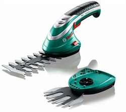 Аккумуляторные ножницы для травы и кустов, комплект Bosch Isio [0600833027]