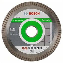 Алмазный отрезной круг Bosch Best for Ceramic Extra-Clean Turbo 125 x 22,23 x 1,4 x 7 mm [2608602479]