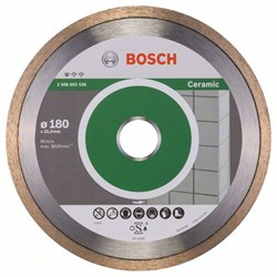 Алмазный отрезной круг Bosch Standard for Ceramic 180 x 25,40 x 1,6 x 7 mm [2608602536]