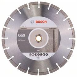 Алмазный отрезной круг Bosch Standard for Concrete 300 x 20,00+25,40 x 2,8 x 10 mm [2608602543]