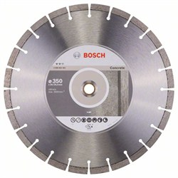 Алмазный отрезной круг Bosch Expert for Concrete 350 x 20,00+25,40 x 3,2 x 12 mm [2608602561]