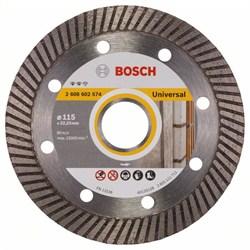 Алмазный отрезной круг Bosch Expert for Universal Turbo 115 x 22,23 x 2 x 12 mm [2608602574]