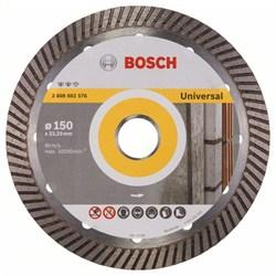 Алмазный отрезной круг Bosch Expert for Universal Turbo 150 x 22,23 x 2,2 x 12 mm [2608602576]