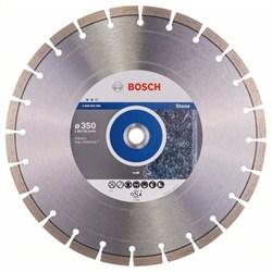 Алмазный отрезной круг Bosch Expert for Stone 350 x 20,00+25,40 x 3,2 x 12 mm [2608602594]