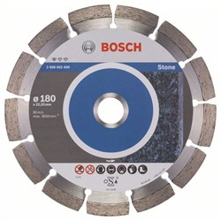 Алмазный отрезной круг Bosch Standard for Stone 180 x 22,23 x 2 x 10 mm [2608602600]
