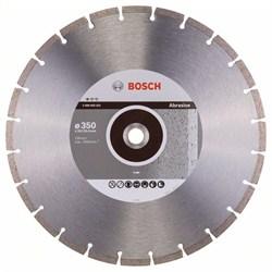 Алмазный отрезной круг Bosch Standard for Abrasive 350 x 20,00+25,40 x 2,8 x 10 mm [2608602621]
