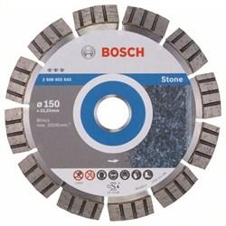 Алмазный отрезной круг Bosch Best for Stone 150 x 22,23 x 2,4 x 12 mm [2608602643]