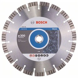 Алмазный отрезной круг Bosch Best for Stone 300 x 22,23 x 2,8 x 15 mm [2608602646]