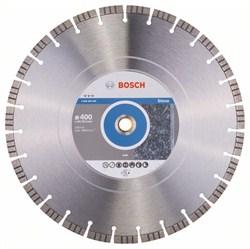 Алмазный отрезной круг Bosch Best for Stone 400 x 20,00+25,40 x 3,2 x 12 mm [2608602649]
