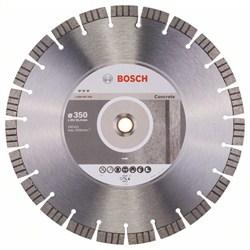 Алмазный отрезной круг Bosch Best for Concrete 350 x 20,00+25,40 x 3,2 x 15 mm [2608602658]