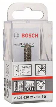 Алмазная фреза Bosch Best for Ceramic 6,35 mm; D 7,4 mm; L 35 [2608620217]