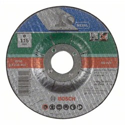 Отрезной круг, изогнутый, по металлу Bosch A 30 S BF [2609256310]