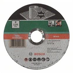 Отрезной круг, прямой, по нержавеющей стали Bosch WA 60 T BF [2609256323]