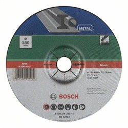 Обдирочный круг, выпукл., по металлу Bosch A 24 P BF [2609256338]