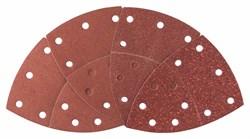Bosch  Набор из 25 шлифлистов для мультишлифмашин, зернистость 40, 80, 120, 180 [2607017112]