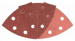 Bosch Набор из 6 шлифлистов для дельташлифмашин 93, 60; 120; 240 [2609256A54]