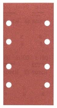 Bosch Набор из 10 шлифлистов для виброшлифмашин 93 x 185, 180 [2609256A84]