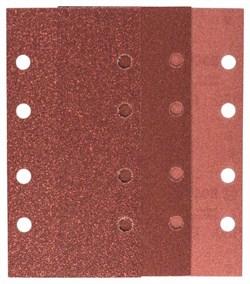 Bosch Набор из 10 шлифлистов для виброшлифмашин 93 x 185, 4 x 60; 4 x 120; 2 x 180 [2609256A93]