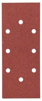 Bosch Набор из 10 шлифлистов для виброшлифмашин 93 x 230, 120 [2609256B04]