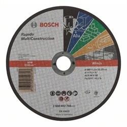Отрезной круг, прямой, Bosch Rapido Multi Construction ACS 46 V BF, 180 mm, 1,6 mm [2608602766]