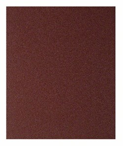 Шлифлист для ручного шлифования древесины и ЛКП, 230 x 280мм, Bosch P60 230 x 280 мм, 60 [2609256B65]