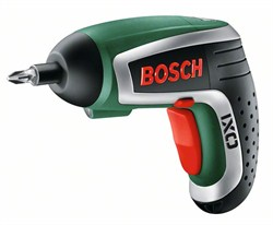 Аккумуляторный шуруповёрт с литий-ионным аккумулятором Bosch IXO Upgrade base [0603981020]