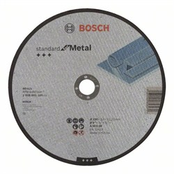 Отрезной диск прямой Bosch Standard for Metal A 30 S BF, 230 mm, 22,23 mm, 3,0 mm [2608603168]