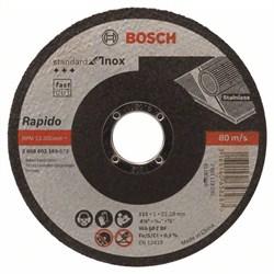 Отрезной круг, прямой, Bosch Standard for Inox - Rapido WA 60 T BF, 115 mm, 22,23 mm, 1,0 mm [2608603169]