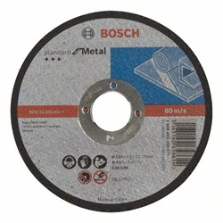 Отрезной диск прямой Bosch Standard for Metal A 30 S BF, 115 mm, 22,23 mm, 2,5 mm [2608603164]