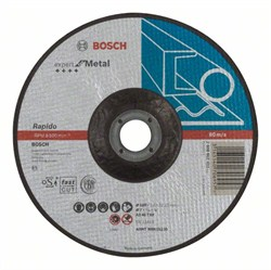 Отрезной круг, выпуклый, Bosch Expert for Metal, Rapido AS 46 T BF, 180 mm, 1,6 mm [2608603403]