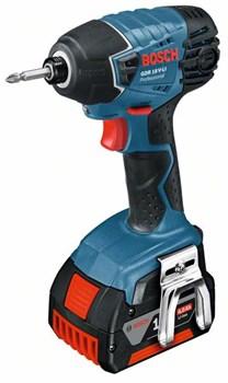 Аккумуляторный ударный гайковёрт Bosch GDR 18 V-LI [06019A130F]