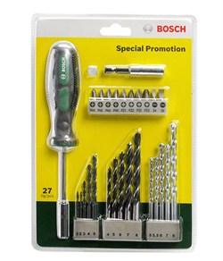 Bosch  Набор из 27 сверл и насадок-бит [2607017201]