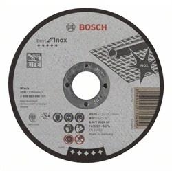 Отрезной круг, прямой, Bosch Best for Inox A 46 V INOX BF, 125 mm, 1,5 mm [2608603496]