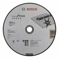 Отрезной круг, прямой, Bosch Best for Inox, Rapido A 46 V INOX BF, 230 mm, 1,9 mm [2608603500]