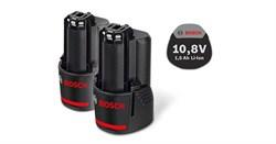 Аккумулятор Комплект аккумуляторов Bosch GBA 10,8 В 1,5 А*ч O-A [1600Z0003Z]