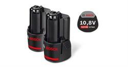 Аккумулятор  Bosch GBA 10,8 В 2,0 А*ч O-B (цена за 1 аккумулятор)[1600Z00040]