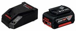 Аккумулятор Базовый комплект Bosch GBA 18 В 4,0 А*ч M-C + AL 1860 CV [1600Z00043]