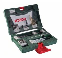 Набор Bosch TiN-сверл и насадок-бит V-Line с магнитным захватом из 48 шт. [2607017314]
