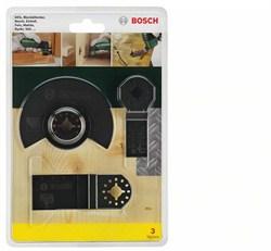 Bosch  Базовый комплект из 3 шт. по древесине, для многофункциональных инструментов [2607017323]