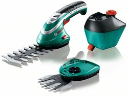 Аккумуляторные ножницы для травы и кустов, комплект Bosch Isio [060083310G]