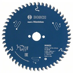 Пильный диск Bosch Expert for Aluminium 184 x 30 x 2,6 mm, 56 [2608644100]