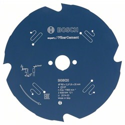 Пильный диск Bosch Expert for Fiber Cement 160 x 20 x 2,2 mm, 4 [2608644121]