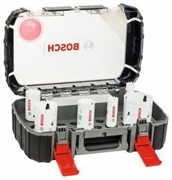 Универсальный набор из 8 коронок Bosch Progressor 22; 25; 35; 40; 51; 68 mm [2608594062]