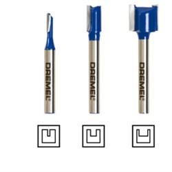 Набор прямых фрез для DREMEL® TRIO [2615T673JA] - фото 27797