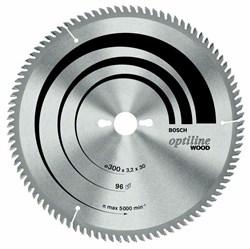 Bosch Пильный диск Optiline Wood 300 x 30 x 3,2 mm, 96 2608640661